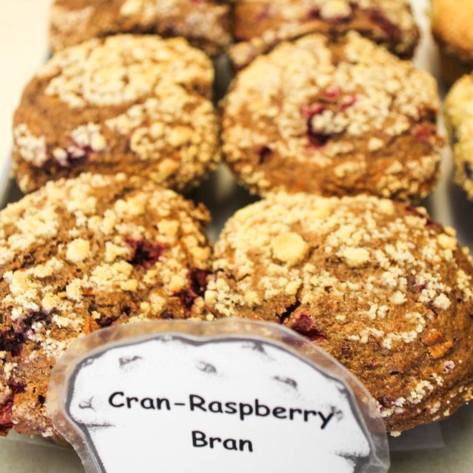 Cran-Raspberry Bran